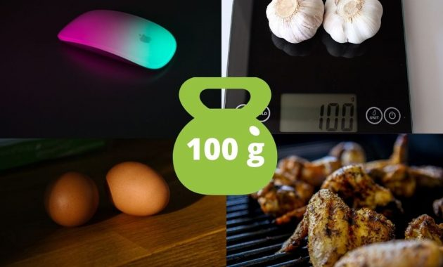 Common Items That Weigh 100 Grams