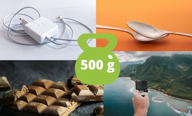 List of Common Items That Weighs 500 Grams