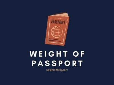 Weight of Passport Pictures