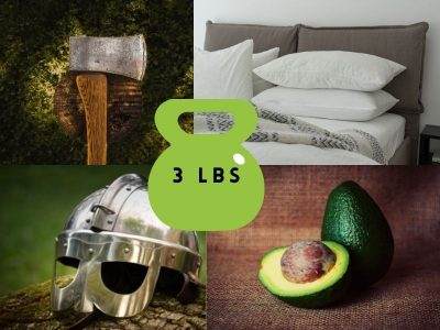 Common Items That Weigh 3 Pounds