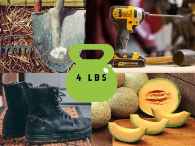 Common Items That Weigh 4 Pounds